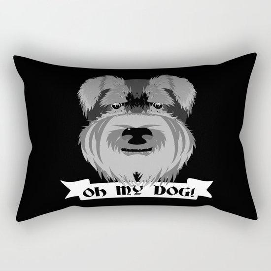 Oh My Dog Rectangular Pillow