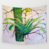 jamaica Wall Tapestries featuring Cullowhee by ANoelleJay