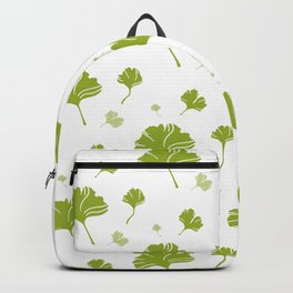 Ginkgo Biloba Tree Leaves Health Welness Vitality Gift Backpack