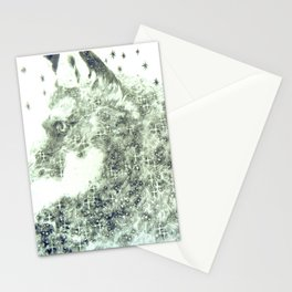 Fox sees the stars Stationery Cards