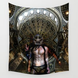 Beginning of the End | Self Portrait Wall Tapestry