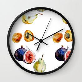 fruits patte Wall Clock