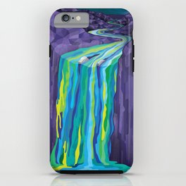 The Great Waterfall iPhone Case