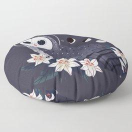 Familiar - Sooty Owl Floor Pillow