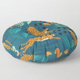 Cheetah pattern 001 Floor Pillow