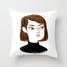 Epic side eye Throw Pillow