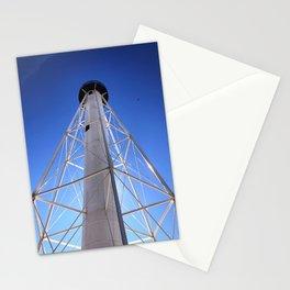 Lighthouse on Blue Stationery Cards