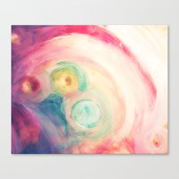 third eye Canvas Prints featuring third eye by Kras Arts - Fly Me To The Moon