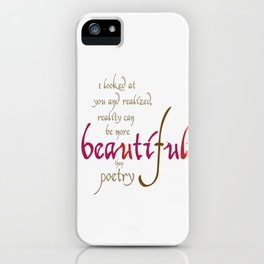 The song of the heart #society6 #love #buyart iPhone Case
