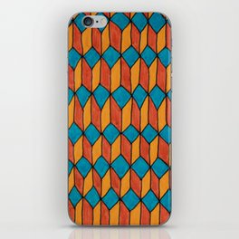 Pattern color iPhone Skin