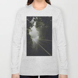 Foggy Road Long Sleeve T-shirt