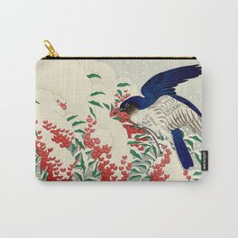 Winterberry Songbirds Carry-All Pouch