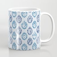 parks and recreation Mugs featuring Parks Dept. by Emily