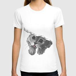 The Curious Cat 02 T-shirt