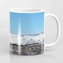 Icebergs along the Tidal shelf Coffee Mug