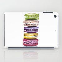 macarons iPad Cases featuring Macarons by Bridget Davidson