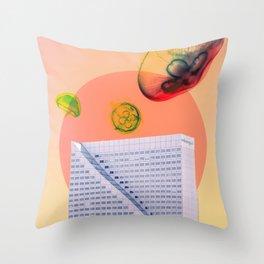 DUSTY DUSK Throw Pillow