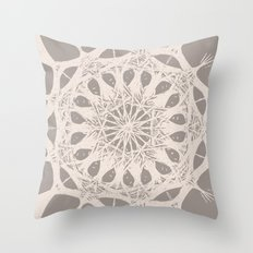roots of curiosity Throw Pillow