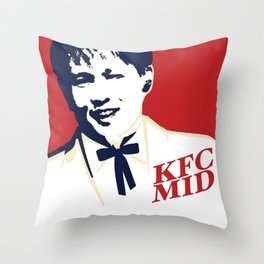 KFC MID Throw Pillow