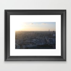 London at Dusk (2012) Framed Art Print