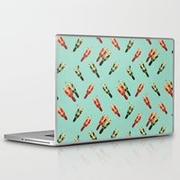 otters Laptop & iPad Skins featuring Otters' attractions by Lillian Ip-Koon