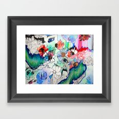 Upload Framed Art Print