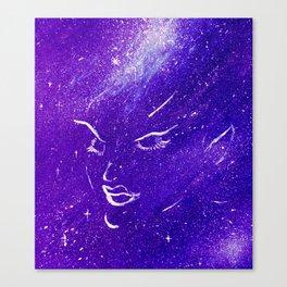 Space Elf Canvas Print