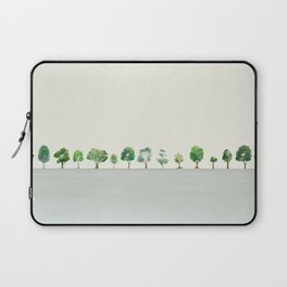 A Row Of Trees Laptop Sleeve