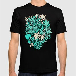 Garden – Mint & Cream Palette T-shirt