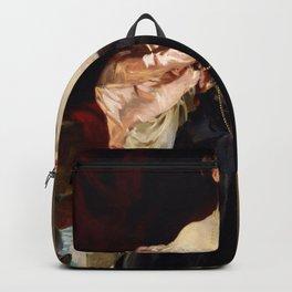 Lady Helen Vincent by John Singer Sargent Backpack
