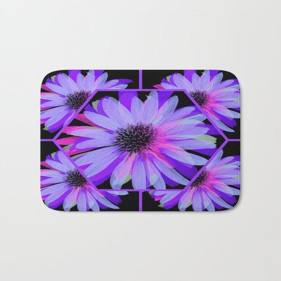 Elegant Painted Flowers  Bath Mat