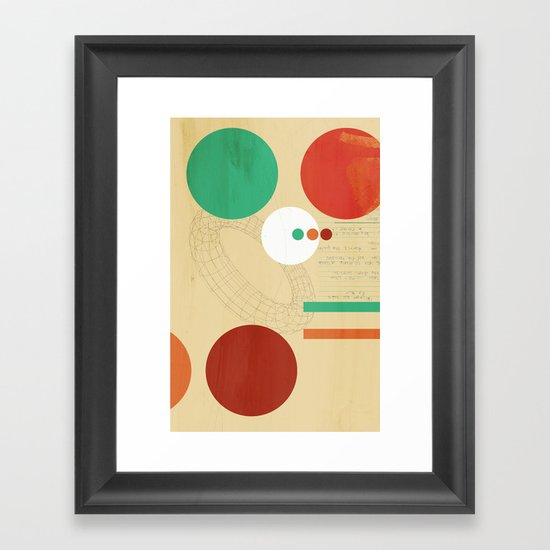 Orbital Secret Framed Art Print