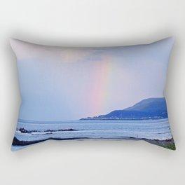 Coastal Rainbow Rectangular Pillow