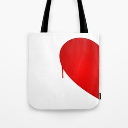 Half Heart Woman Tote Bag