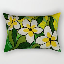 Samoan Pua Rectangular Pillow