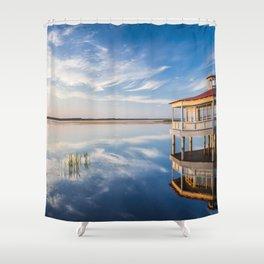 Haapslau and Baltic sea 2.0. Shower Curtain