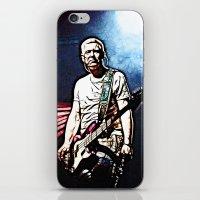 u2 iPhone & iPod Skins featuring U2 / Adam Clayton by JR van Kampen