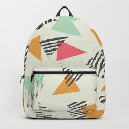 Geometric Mint Pattern Design 015 Backpack