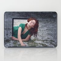 portal iPad Cases featuring PORTAL by Annamaria Kowalsky