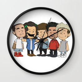 Schulz 1D Wall Clock