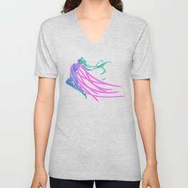 Moon Crystal Power! Unisex V-Neck