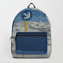 Cross Stitch Skiing Backpack