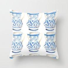 handmade ceramic Throw Pillow