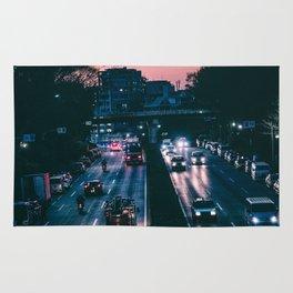 Tokyo trafic Rug