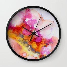 Ink 101 Wall Clock