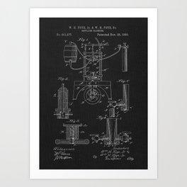 1890 Bottling Machine Art Print