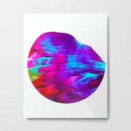 Half Orb Metal Print