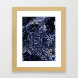 Azurite Framed Art Print