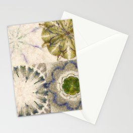 Dissonance Castle In The Air Flowers  ID:16165-082458-79050 Stationery Cards