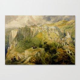 Ronda, Spain Canvas Print